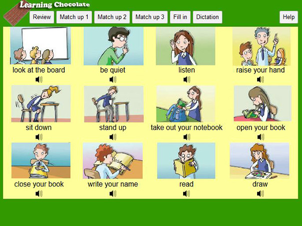 english instruction For ells, as with all students, it is important that instruction have meaning, so that the words and sounds students are manipulating are familiar it is therefore necessary for ells to have knowledge of the english vocabulary words within which they are to understand phonemes teachers can teach phonemic awareness.