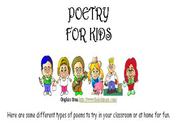 Different Types of Poetry   English-Guide org