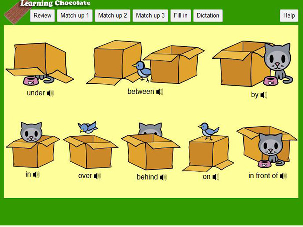 Prepositions Of Place English Guide Org