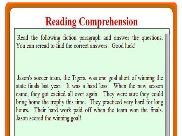 relationship of reading comprehension on mathematics