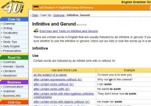 esl infinitive with without to exercises pdf